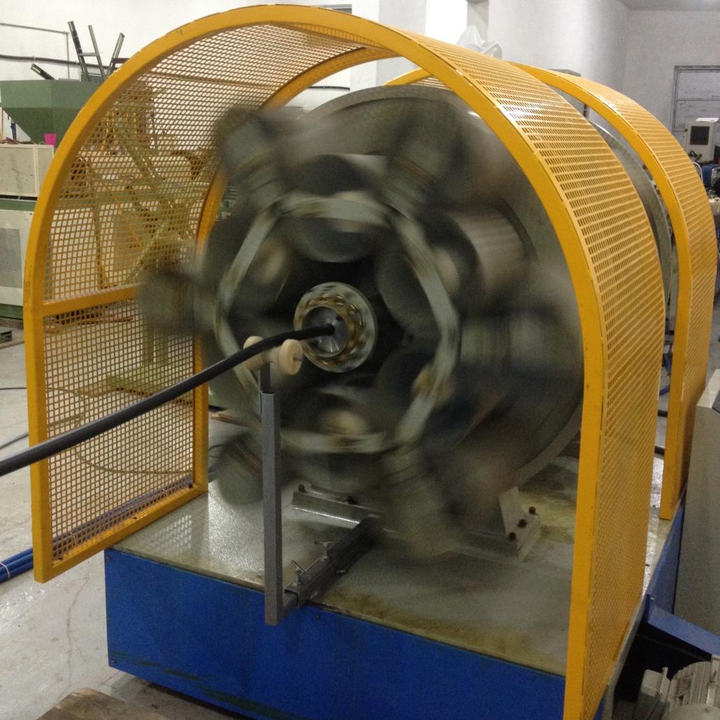 PVC Fiber Threading Machine